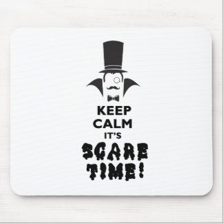 Keep calm it's scare time mouse pad