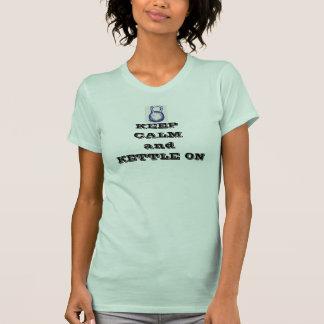 Keep Calm Kettle Bell T-Shirt