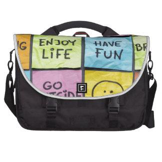 Keep Calm Laptop Messenger Bag