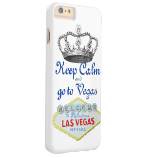 Keep Calm Las Vegas Barely There iPhone 6 Plus Case