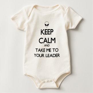 Keep Calm Leader Baby Bodysuit