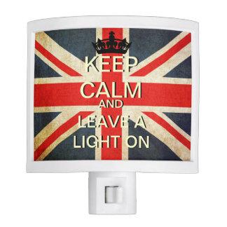 Keep Calm Leave A Light On Night Light