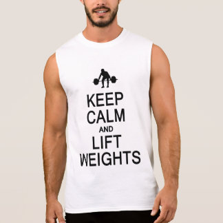 Keep Calm & Lift Weights shirt - choose style