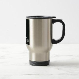 Keep Calm & love a Hairstylist Silver Commuter Mug