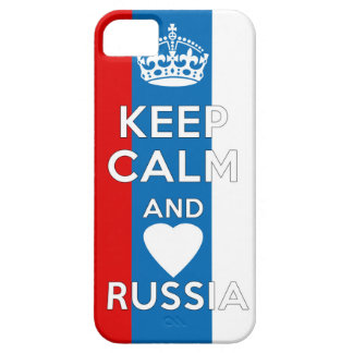 Keep Calm & Love Russia iPhone 5 Cases