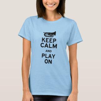 Keep Calm - Marching Baritone T-Shirt