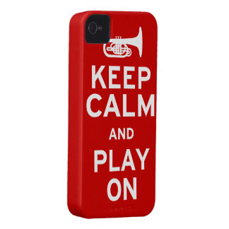 Keep Calm Mellophone iPhone 4 Case
