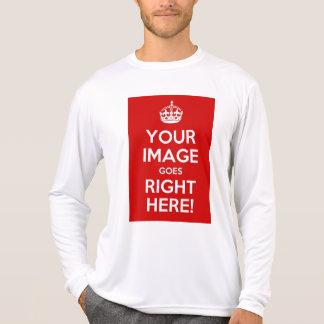 Keep Calm Men's Long-Sleeve Performance T-Shirt