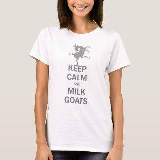 Keep Calm Milk Goats T-Shirt