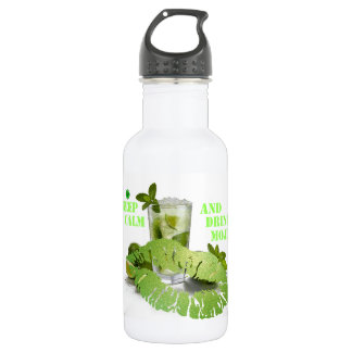 Keep Calm Mojito 532 Ml Water Bottle