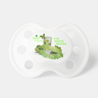 Keep Calm Mojito Baby Pacifiers