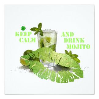 Keep Calm Mojito Card