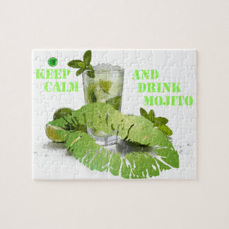 Keep Calm Mojito Jigsaw Puzzle
