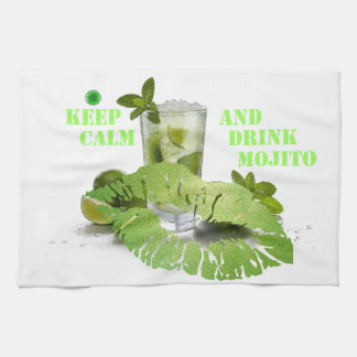 Keep Calm Mojito Kitchen Towel