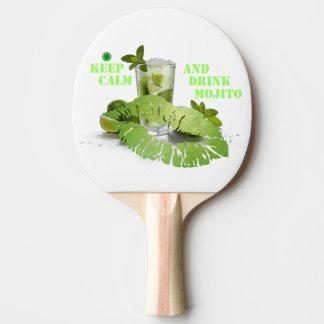Keep Calm Mojito Ping Pong Paddle
