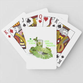 Keep Calm Mojito Playing Cards