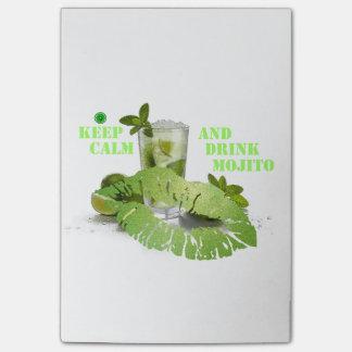Keep Calm Mojito Post-it Notes