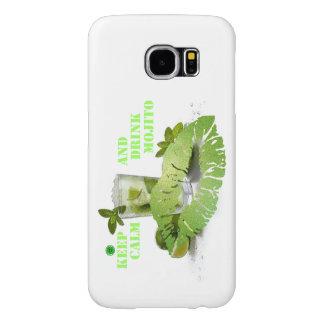 Keep Calm Mojito Samsung Galaxy S6 Case