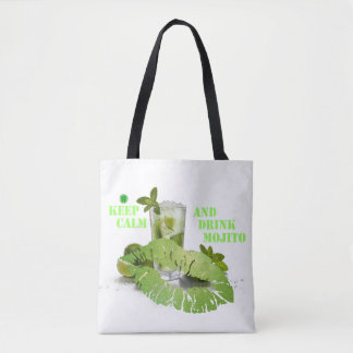 Keep Calm Mojito Tote Bag