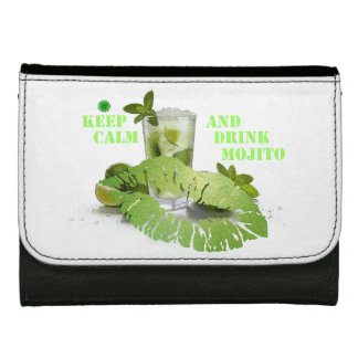 Keep Calm Mojito Wallets For Women