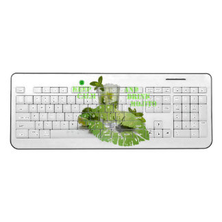 Keep Calm Mojito Wireless Keyboard