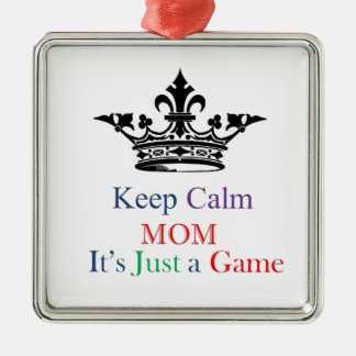 Keep Calm Mom Metal Ornament