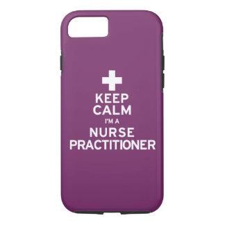 Keep Calm Nurse Practitioner iPhone 7 Case