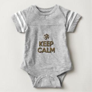 Keep Calm OM Baby Bodysuit