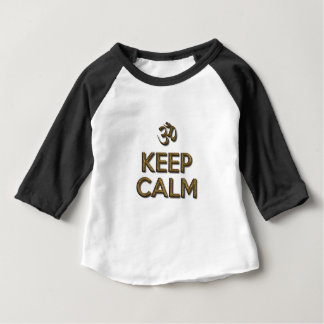 Keep Calm OM Baby T-Shirt