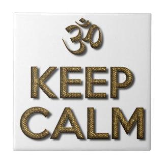 Keep Calm OM Tile