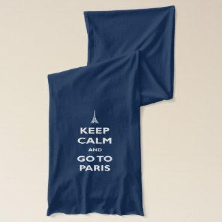 Keep Calm Paris Scarf