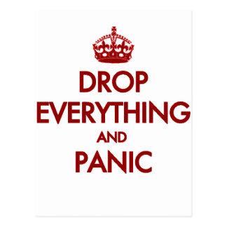 Keep Calm? Pfft! Postcard