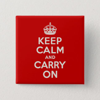 Keep Calm Pin