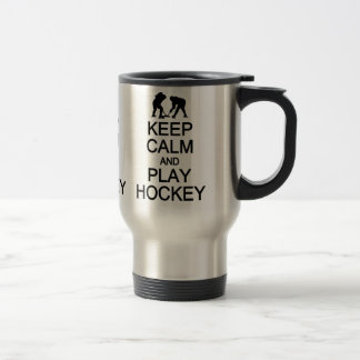 Keep Calm & Play Hockey mug - choose style, color