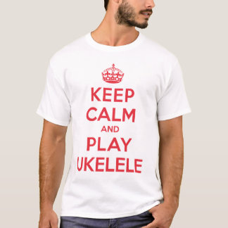 Keep Calm Play Ukelele Shirt