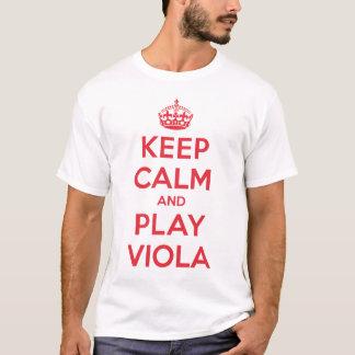 Keep Calm Play Viola Shirt