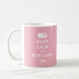 Keep Calm & Popcorn On Mug