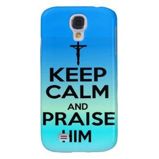 KEEP CALM PRAISE HIM HTC VIVID CASES