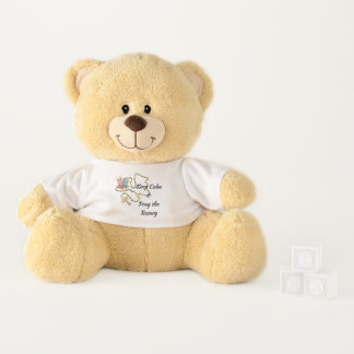 Keep Calm & Pray the Rosary Teddy Bear