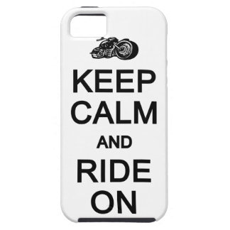 Keep Calm & Ride On iPhone 5 Case-Mate