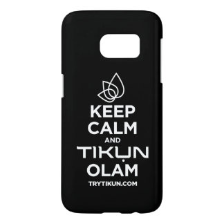 Keep Calm Samsung Phone Case
