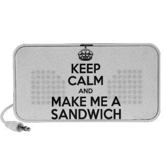 Keep Calm Sandwich Mini Speakers