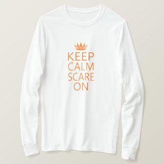 Keep Calm Scare On Crown Unisex Tee