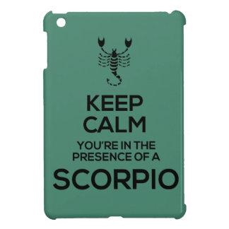 Keep Calm...Scorpio - iPad Mini Case