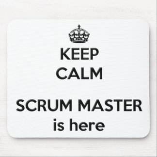 Keep Calm Scrum Master Mousepad