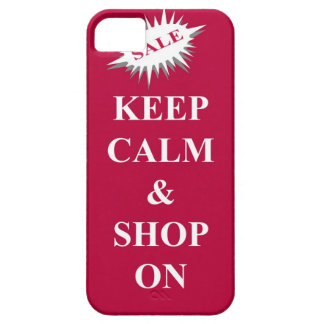 keep calm & shop on iPhone 5 cases