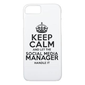 Keep Calm - Social Media iPhone 7 Case