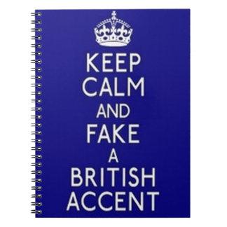 Keep Calm Spiral Notebook