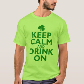 Keep Calm St Patricks Day Humor T-Shirt