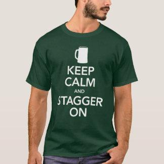 Keep Calm & Stagger On - Unisex Dark Tee
